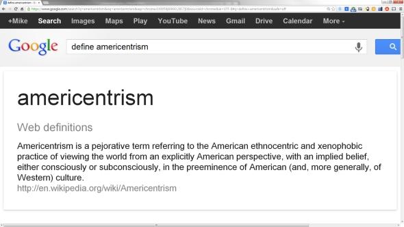 Americentrism