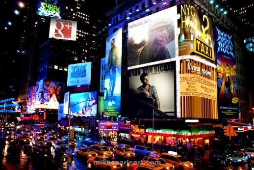 2012 Google NYC HIRL Poster