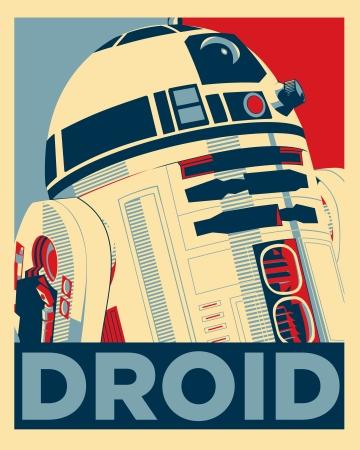 Droid Pop Art